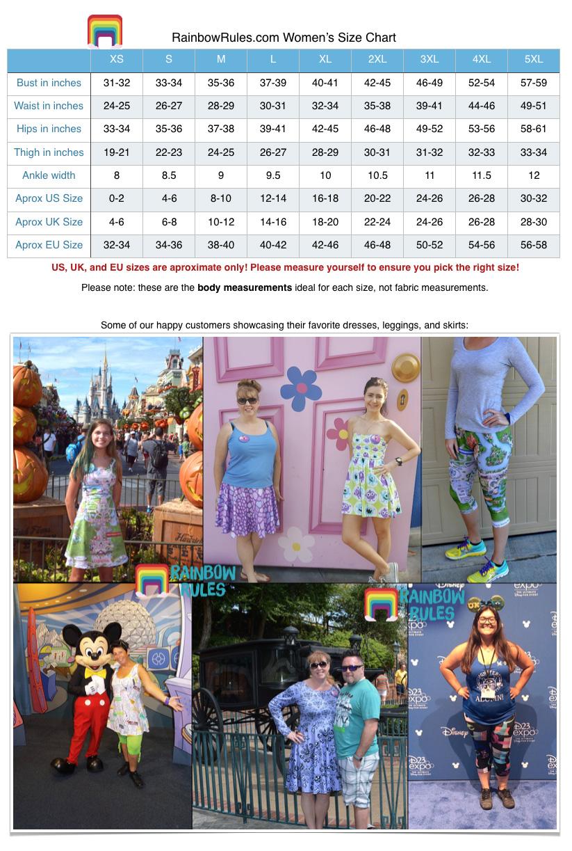 6ca053b97b Snack Goals Disney Parks Inspired Sleeveless Dress - Rainbow Rules